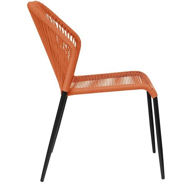 Filo Plastica Per Sedie.Sedia In Metallo E Filo 0371 Tutto Per Negozi Com