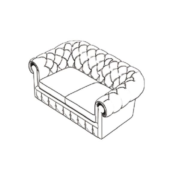 Poltrona divano in ecopelle 02209 tutto per for Divano disegno