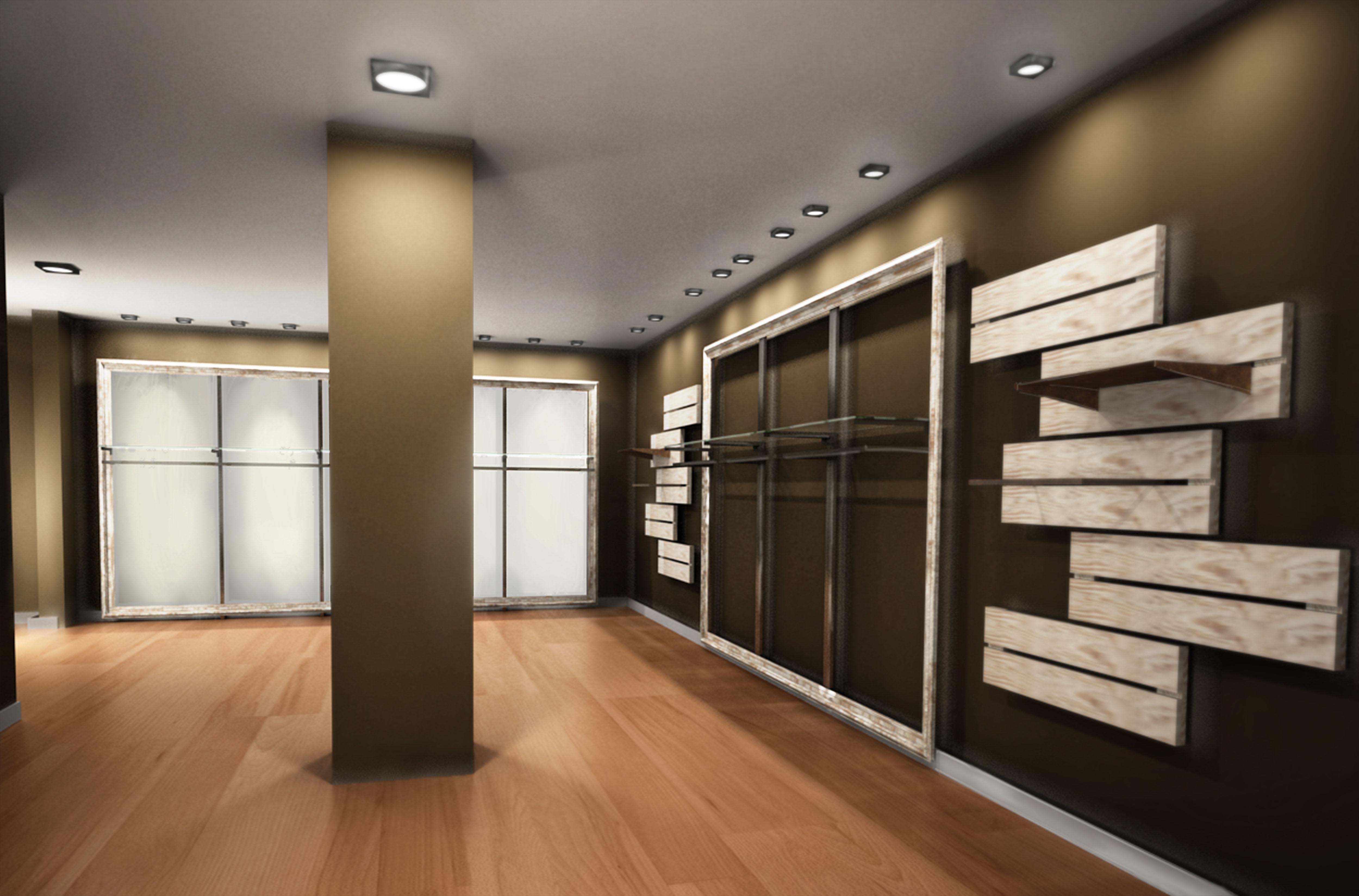 Nuovo arredamento negozio abbigliamento realizzato per for Arredamento per negozi abbigliamento